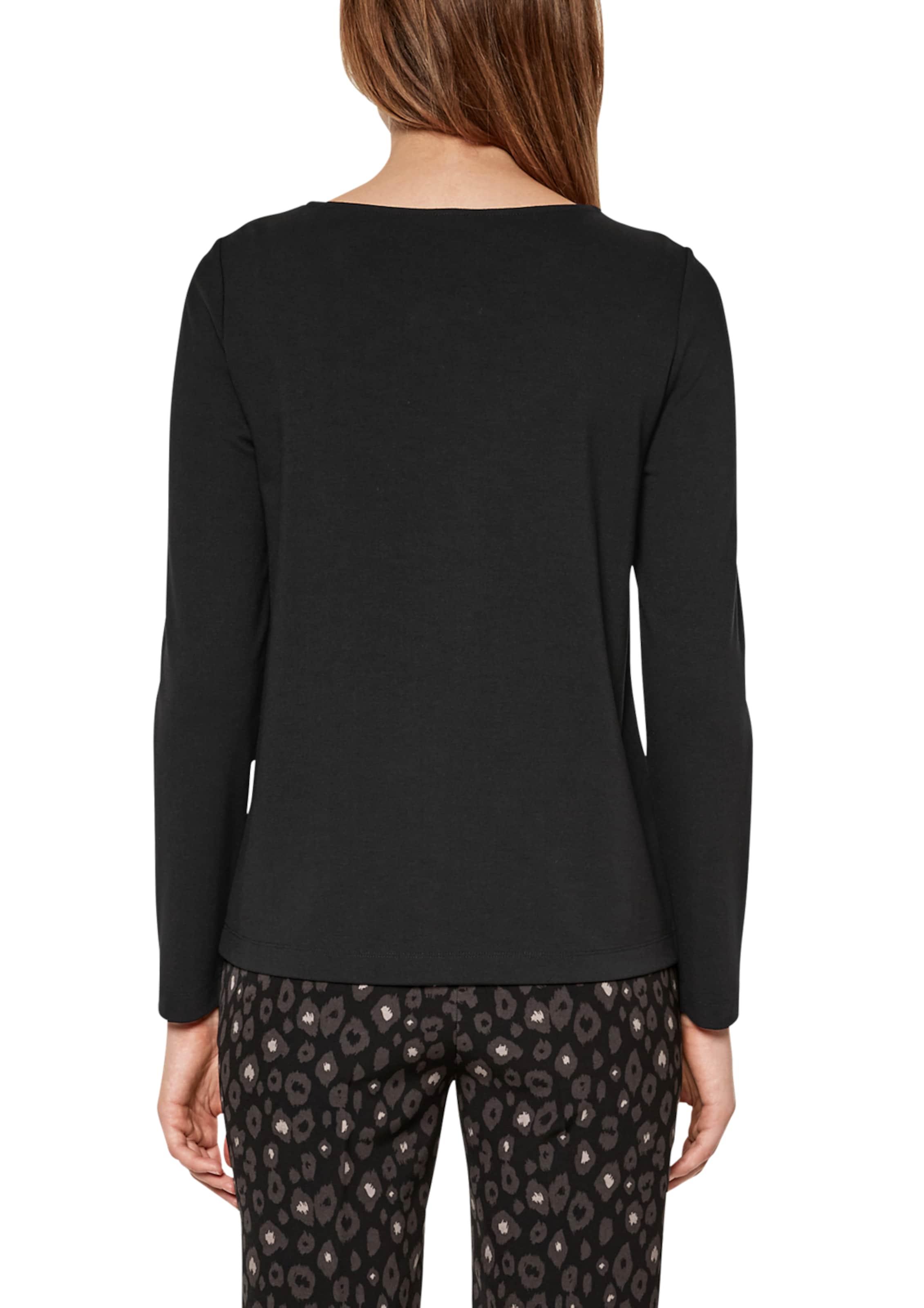 Schwarz S Black In Label Shirt oliver pVUzSM