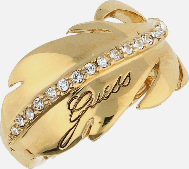GUESS Fingerring Metall Gold UBR21308