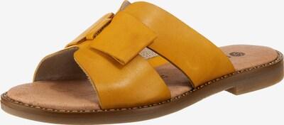 REMONTE Pantolette in goldgelb, Produktansicht