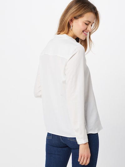 Esprit Collection Blouse in de kleur Offwhite: Achteraanzicht