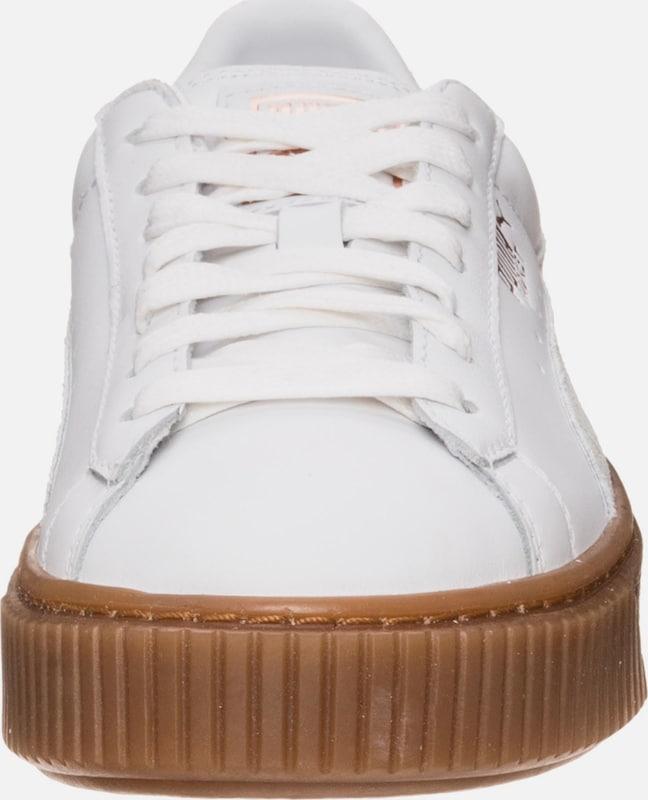 PUMA 'Basket Platform Euphoria Gum' Sneaker Damen