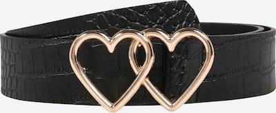 Dorothy Perkins Gürtel 'Black Eyelet' in gold / schwarz, Produktansicht