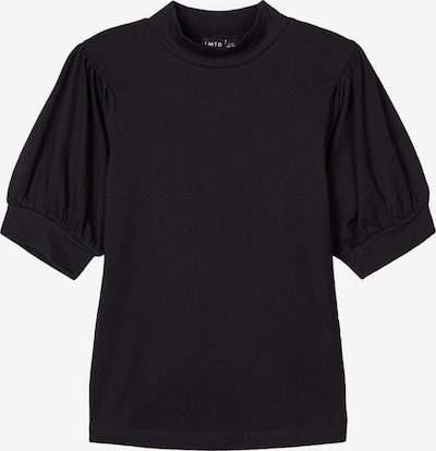 NAME IT Ballonärmel T-Shirt in schwarz, Produktansicht