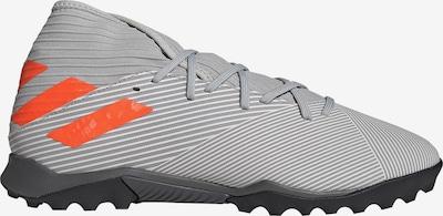 ADIDAS PERFORMANCE Fußballschuh 'Nemeziz 19.3 TF' in grau / dunkelorange / weiß, Produktansicht