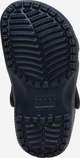 Crocs Clogs in kobaltblau: Ansicht von unten