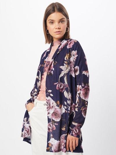 Hailys Cardigan 'Malina' in navy / rosa, Modelansicht