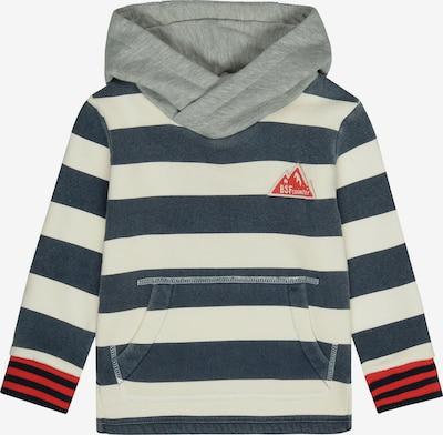BASEFIELD Sweatshirt in blau / weiß, Produktansicht