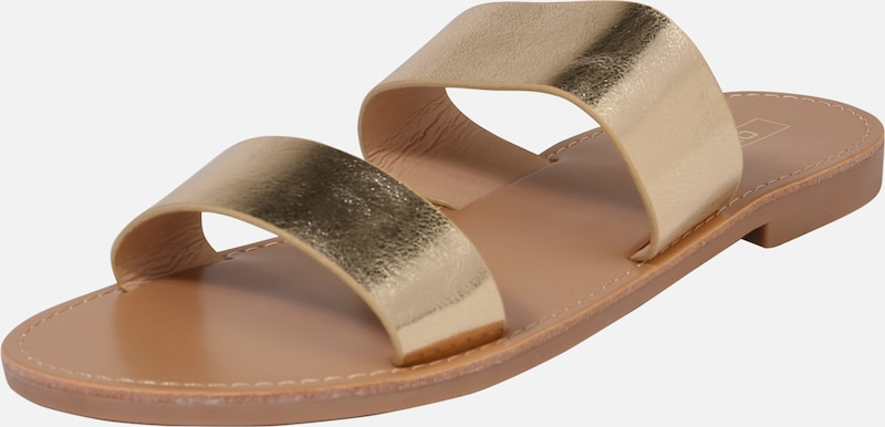ONLY Slipper 'Mandala' in gold, Produktansicht