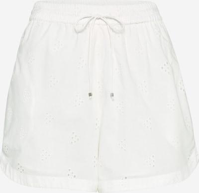 VERO MODA Shorts mit Lochmuster in weiß, Produktansicht
