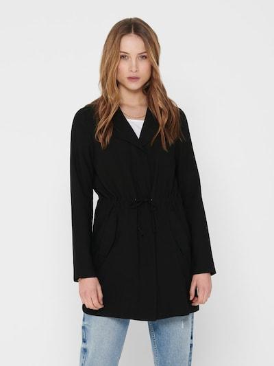 ONLY Manteau mi-saison 'SILLE' en noir, Vue avec modèle