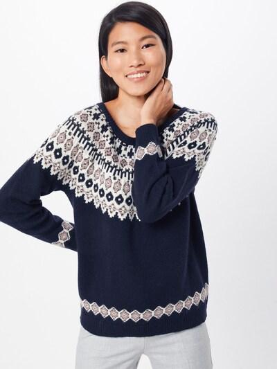 ESPRIT Pullover in navy / mischfarben, Modelansicht
