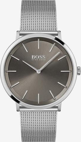 BOSS Casual Uhr 'SKYLINER' in Silber