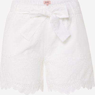 ONLY Shorts in weiß, Produktansicht