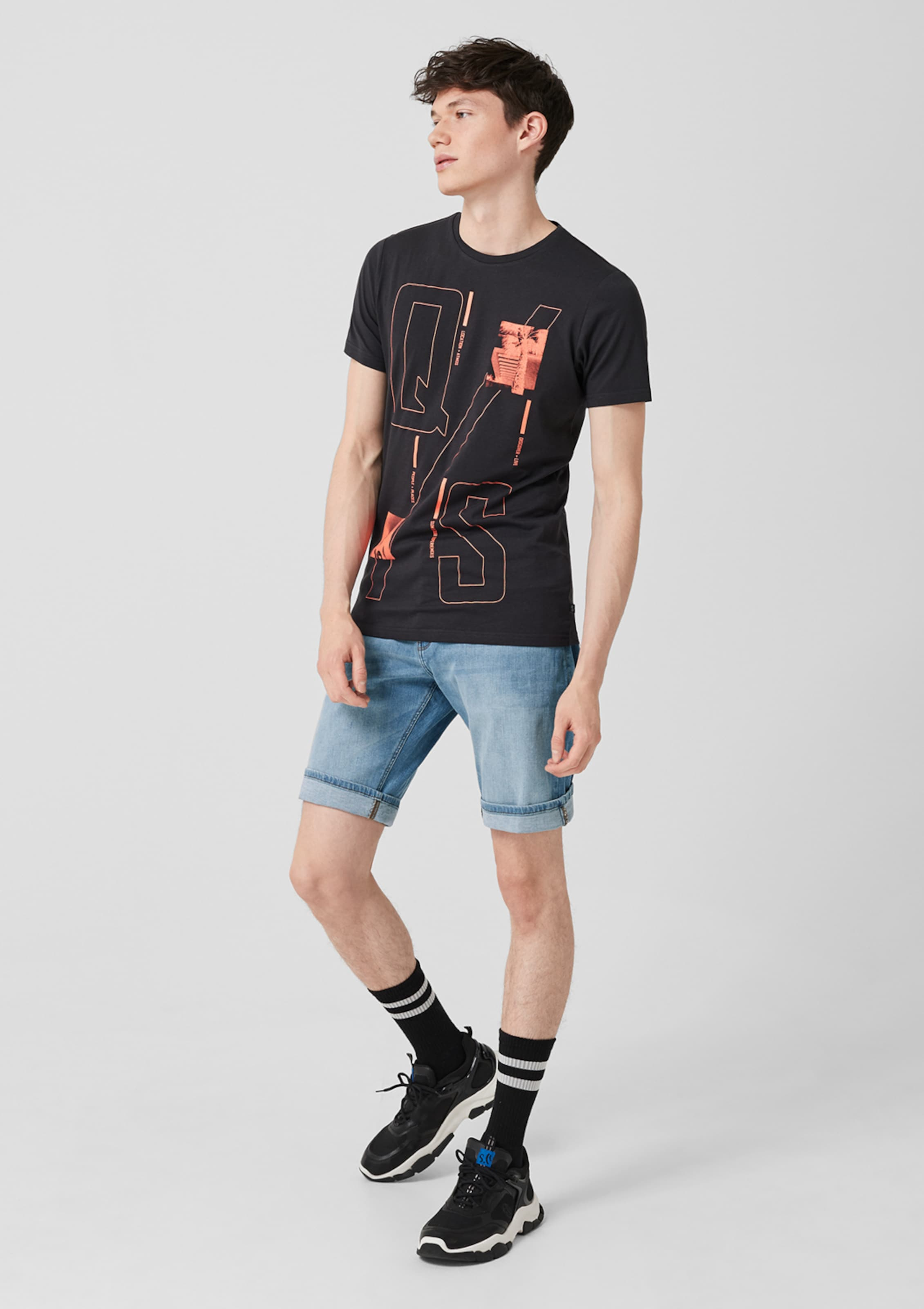 s Blue Q Designed Denim Shorts In By N8wO0mnv