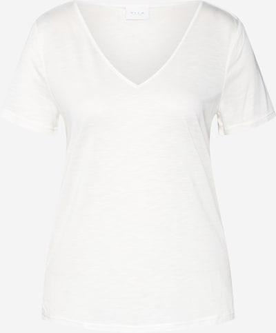 VILA T-shirt en blanc, Vue avec produit