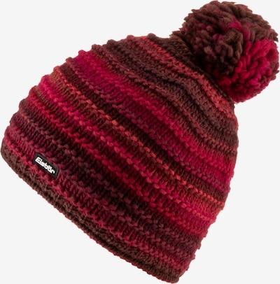 Eisbär Bommelmütze 'Mikata' in rot / burgunder / hellrot / dunkelrot, Produktansicht