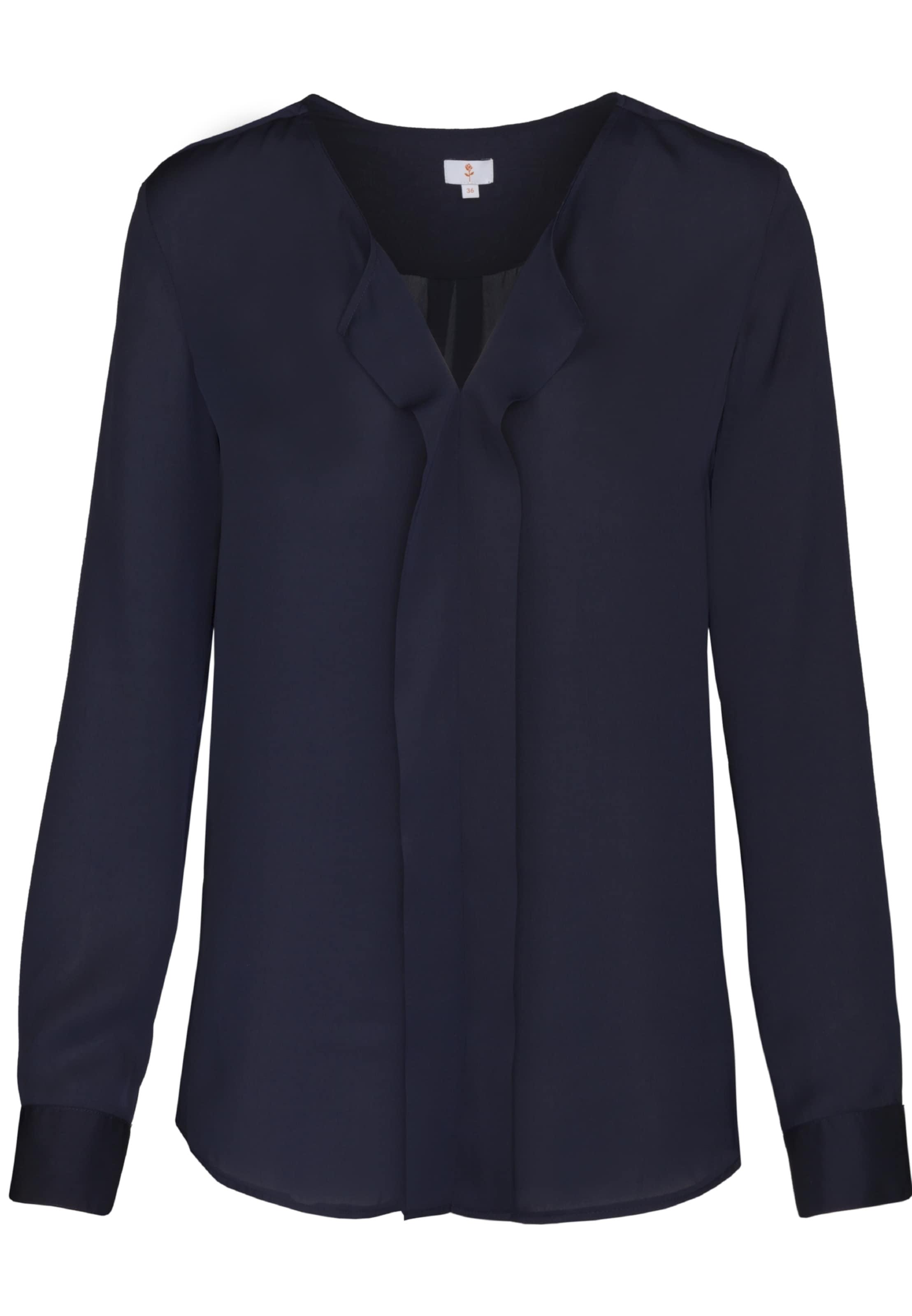 Fashion Seidensticker bluse 'schwarze In Rose' Navy vm80Nnw