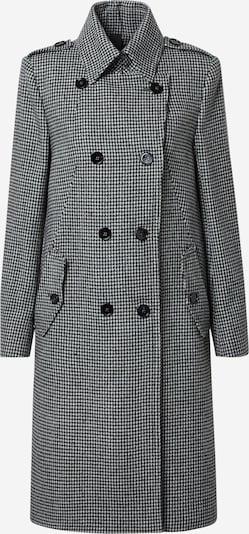 DRYKORN Mantel 'Harleston' in schwarz / weiß, Produktansicht