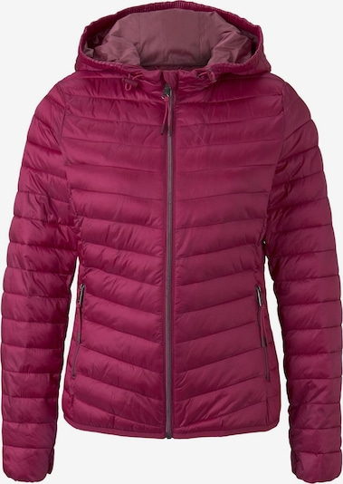 TOM TAILOR Jacken & Jackets Sportive Steppjacke in dunkelpink, Produktansicht