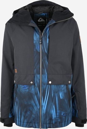 QUIKSILVER Veste de sport 'Ambit' en bleu clair / bleu foncé / noir, Vue avec produit