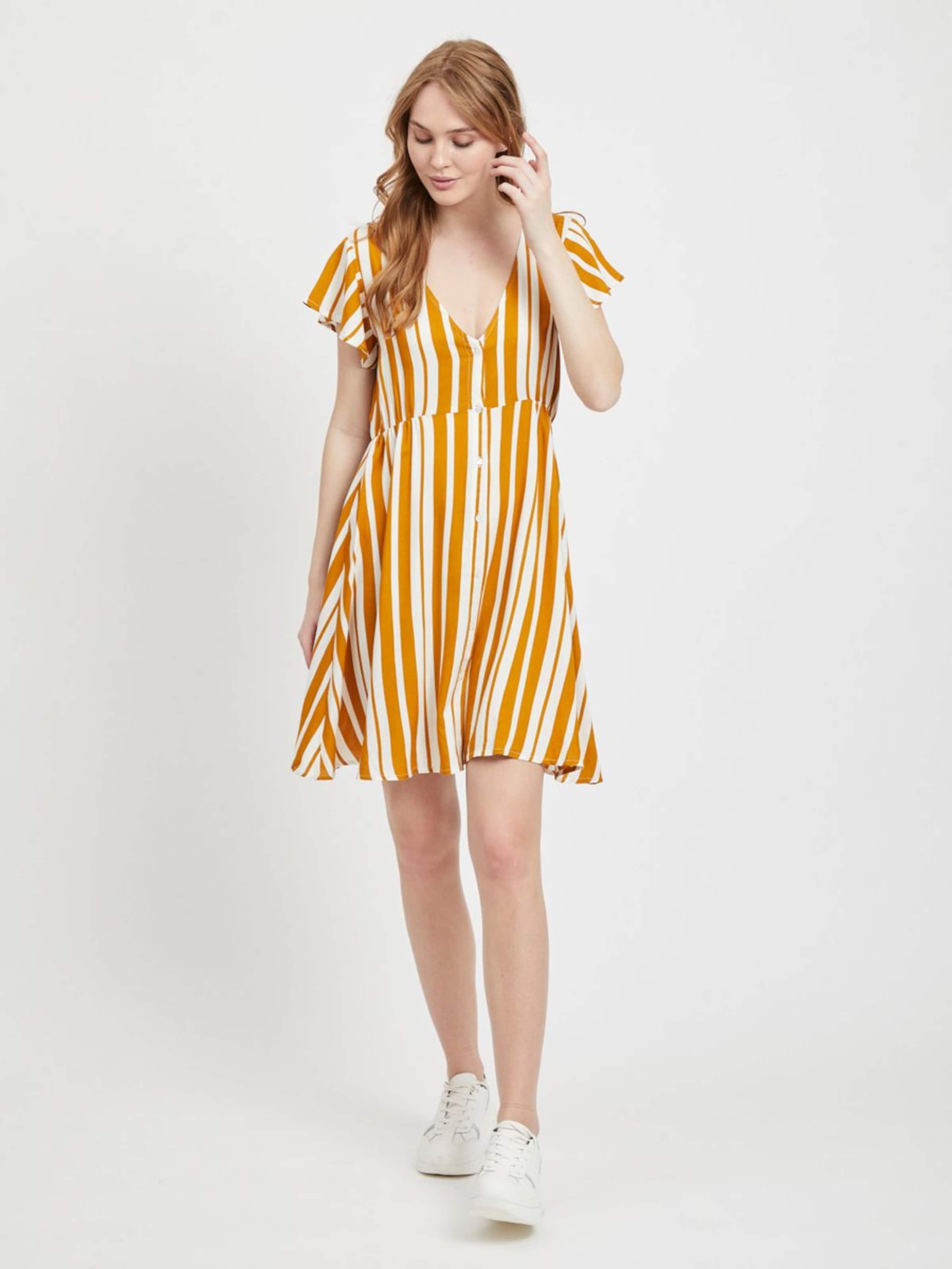En D'été Object Robe D'été Robe OrangeBlanc Object vmNw8n0