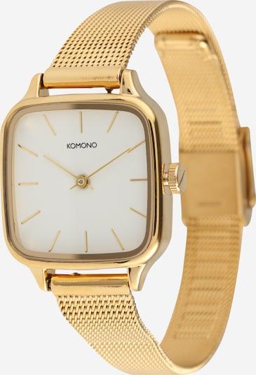Komono Uhr 'KATE ROYALE' in gold / weiß, Produktansicht