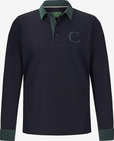 Charles Colby T-Shirt 'Duke Blake' en bleu marine / émeraude, Vue avec produit