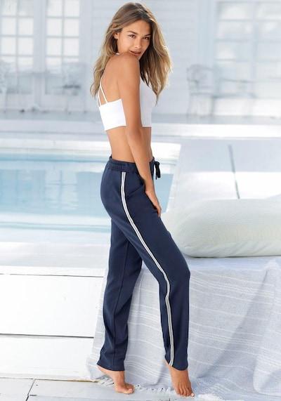 BENCH Pants in dunkelblau / hellgrau, Produktansicht