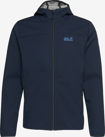 JACK WOLFSKIN Softshelljacke 'NORTHERN POINT' in navy, Produktansicht