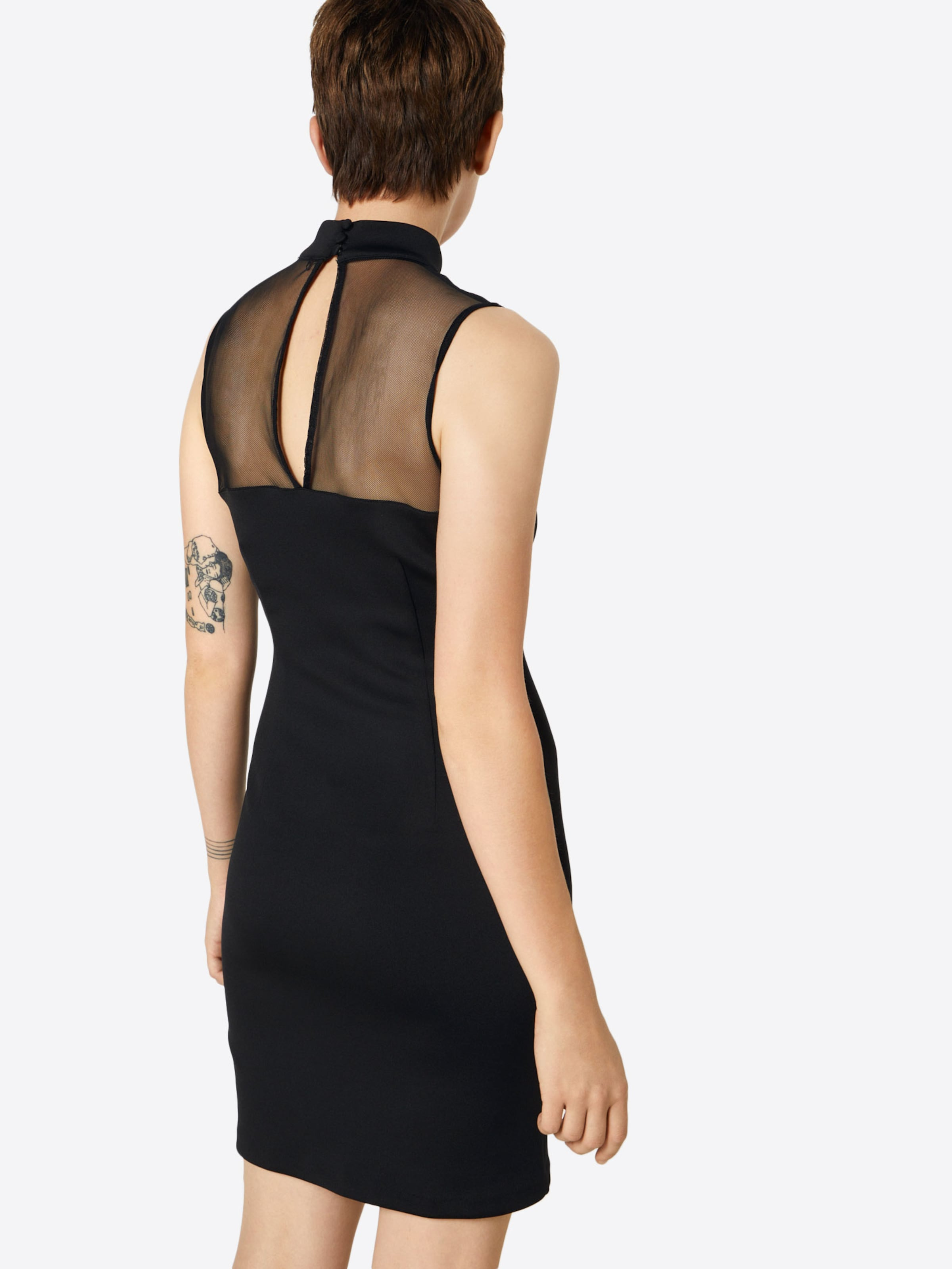 'rachel' Noir Guess De Robe Cocktail En PZuikXO