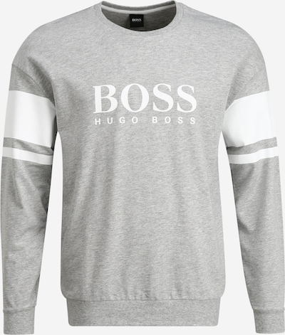 BOSS Sweatshirt 'Authentic 102085' in de kleur Grijs, Productweergave