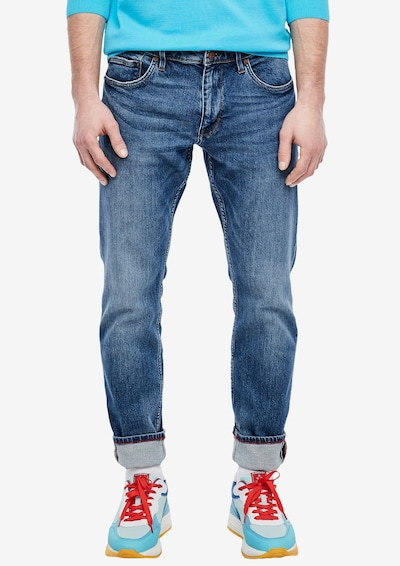 s.Oliver Jeans in blue denim, Modelansicht