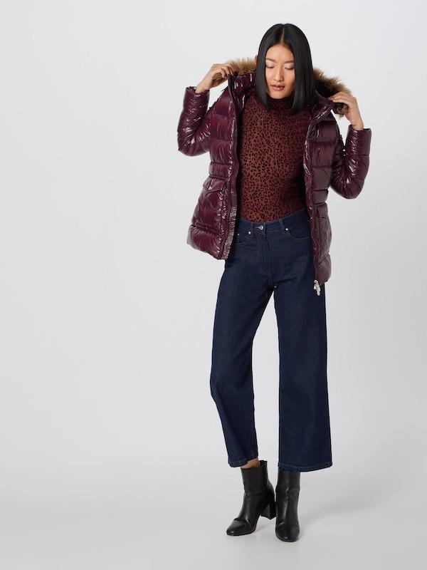 Aubergine 'authentic Synthetic D'hiver Veste En Pyrenex Jacket Shiny Fur' QrtsdCh