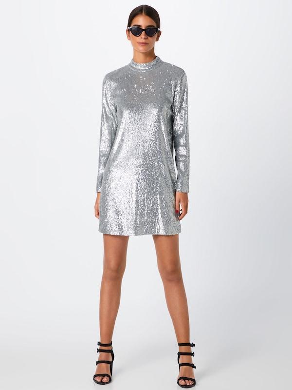 Samsoe & Samsoe Kleid Kleid Kleid 'Theta tn dress 10440' in silber  Bequem und günstig dcc9bd