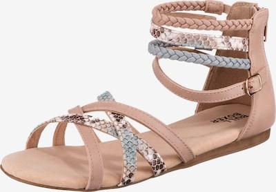 BULLBOXER Sandalen in rosé / silber, Produktansicht
