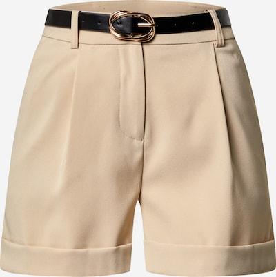 Pantaloni eleganți Miss Selfridge (Petite) pe bej, Vizualizare produs