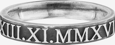 caï Ring in schwarz / silber, Produktansicht