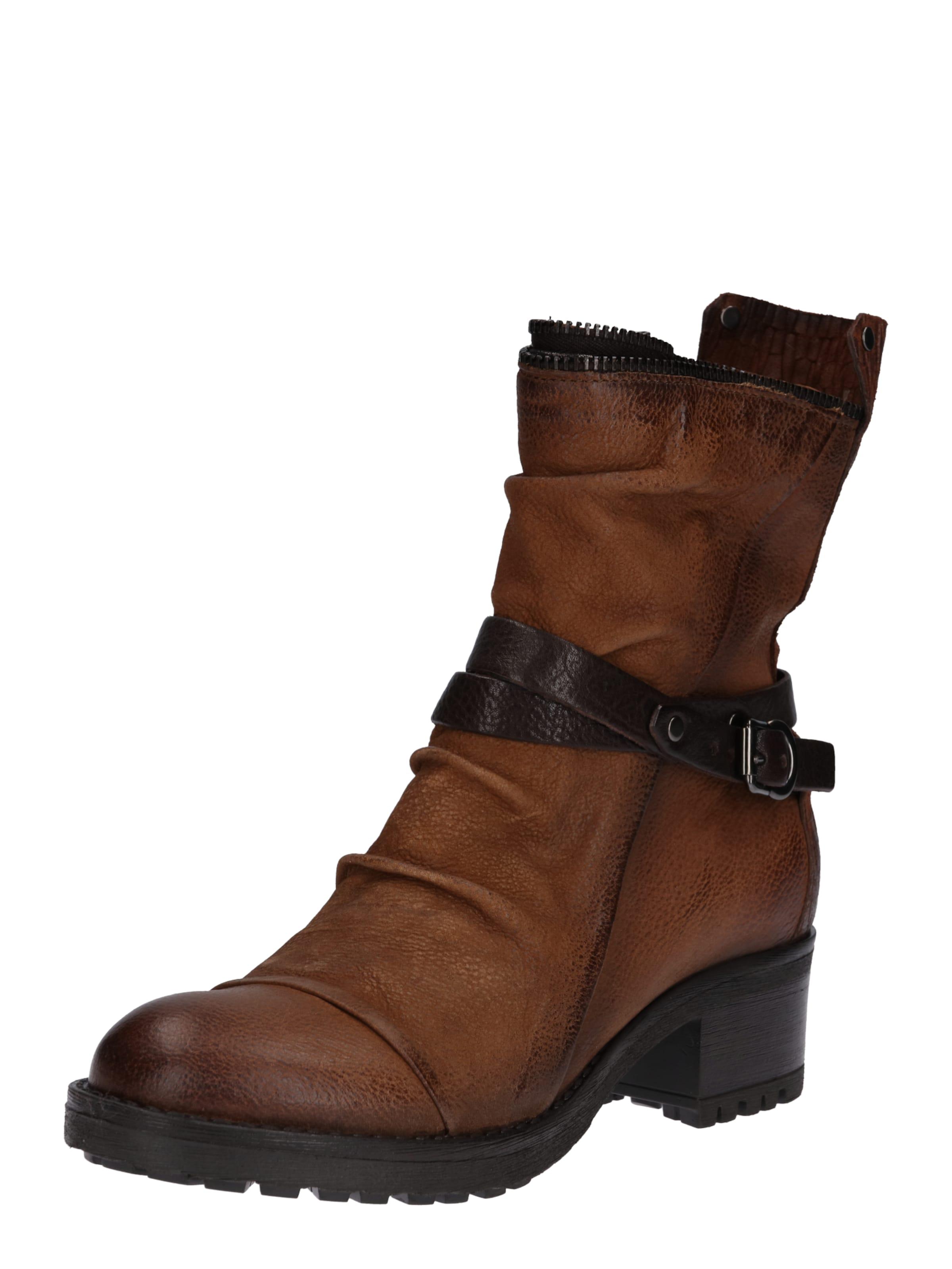 MJUS Stiefelette mit Schnalle Verschleißfeste billige Schuhe