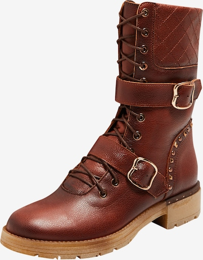 FELIPA Boots in cognac: Frontalansicht