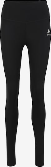 ODLO Sport-Tights 'SHIFT MEDIUM' in schwarz / weiß, Produktansicht
