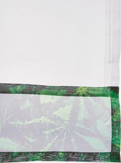 BRUNO BANANI Raffrollo 'Jonas' in grün / weiß, Produktansicht