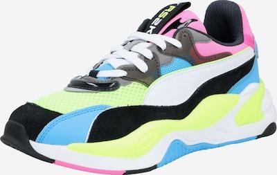 PUMA Sneakers laag 'RS-2K Internet Exploring' in de kleur Blauw / Neongeel / Pink, Productweergave