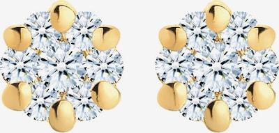 Diamore Ohrringe in gold / weiß, Produktansicht