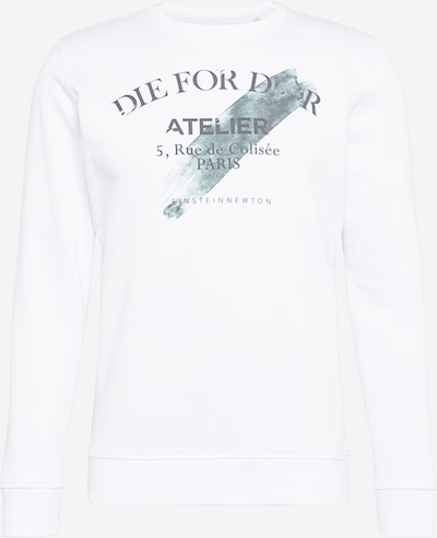 EINSTEIN & NEWTON Sweatshirt in dunkelgrün / weiß, Produktansicht