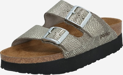 BIRKENSTOCK Slipper 'Arizona' in silber, Produktansicht