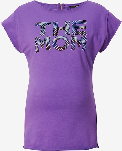 Supermom T-shirt 'Purple' in dunkellila, Produktansicht