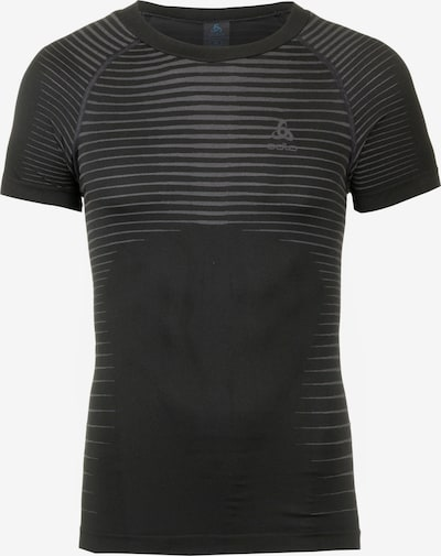 ODLO Funktionsshirt 'Performance Light' in hellgrau / schwarz, Produktansicht