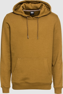 Urban Classics Sweatshirt in Mosterd