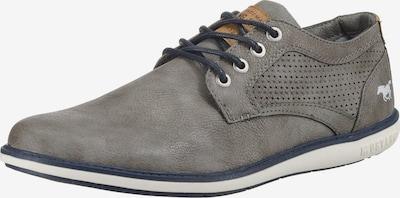 MUSTANG Schnürschuhe in grau, Produktansicht
