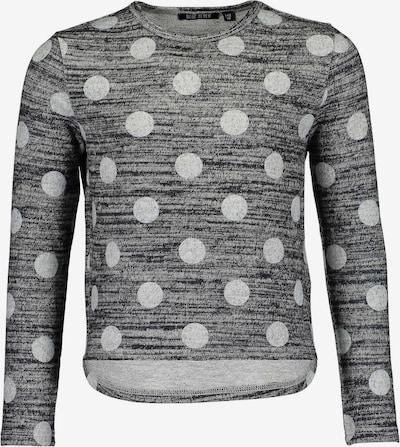 BLUE SEVEN Pullover in hellgrau / graumeliert: Frontalansicht